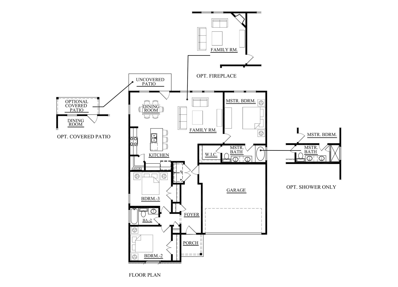 Denton homes for sale unique modern functional open for Unique open floor plans