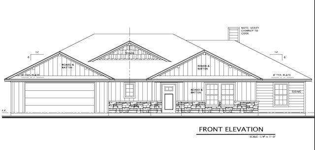 Magnolia Front Entry - Homes for Sale Denton Texas